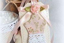 Бирочки / рукоделие, оформление подарков и изделий