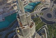 United Arab Emirates Architecture / Incredible infrastructures that have been built in the UAE.