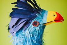 Papercut / #paper #paperboard #sculpture #cut #art #illustration #crafts #design #inspiration #idea