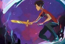 Percy Jackson / the son of Poseidon