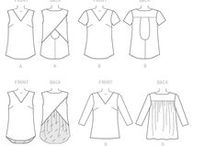 PPC - Blouses, tops, pulls / Divers patrons de blouses et tops