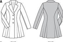 PPC - Vestes, manteaux, gilets.. / Divers patrons de vestes, blazers, manteaux et gilets
