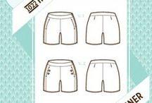 PPC - Shorts, corsaires, pantacourts, bermuda, jupe-culottes / et skort :)