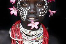 Folk & tribal: faces