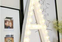 H O M E / Decoration, DIY, ideas