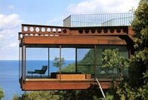 Living on the Edge / Modern and Contemporary Homes