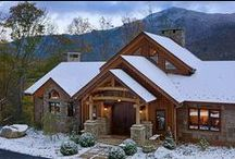 Cabin Fever / Cozy and Beautiful cabins to keep you warm all year long