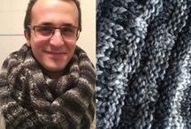 Tricot mania / Tante creazioni realizzate ai ferri: maglie, sciarpe, borse e tanto altro. Many knit creations: sweaters, scarves, bags and much more.