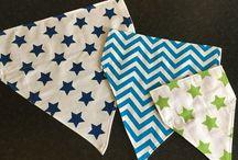 Dog bandanas / Custom made bandanas for your canine companion