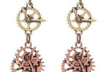 Steampunk / Vêtements, bijoux, accessoires steampunk, proposés par la boutique Freaky Pink.