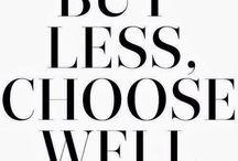 Wardrobe Goals (Minimalism)