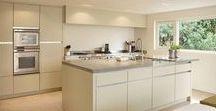 #Droomkeuken / De mooiste keukens in betonlook & wit!