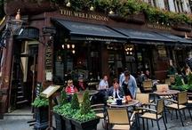 Bars, Cafés & Restaurants - Exteriors / by Cláudia Domingos