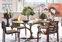 Interiors - Dining Rooms  / by Cláudia Domingos