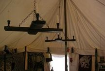 """SCA Camp & Home / Campsite stuff, including but not limited to tents, storage, campsite """"home decor"""" / by Laura Borealis"""