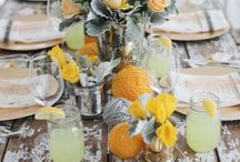 table. / Tablescapes + delish settings.
