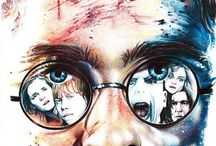 The Boy Who Lived / A tribute to the Potter generation - we grew up with Harry, Ron, and Hermione. It's real for us.  / by Alli