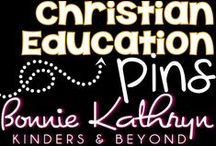 Christian Education / Created for Christian School teachers who are looking for fun innovative ways to integrate Biblical teaching into the classroom.