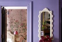 Small Space, Bold Color / Bold Color used in Small Space Interior Design Schemes  / by Amy Beth Cupp Dragoo | ABCDdesign