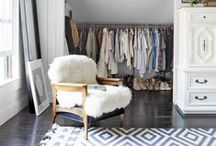 Closets and Dressing Rooms / Luxurious dressing rooms.