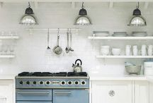 rooms to eat in. / We spent 80% of our waking hours in the kitchen. Shouldn't it be gorgeous? / by Kym Piez