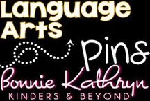 Language Arts / Welcome to Bonnie Kathryn Kinders & Beyond Language Art's board. Here you will find Language Arts resources to help you in your classroom. Find more at bonniekathryn.com
