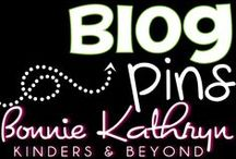 Bonnie Kathryn Blog Posts / Welcome to Bonnie Kathryn Kinders & Beyond Blog post board. Here you will find blog posts from with printable, centers, worksheets, and resources to help you in your classroom. Find more at bonniekathryn.com