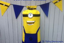Minion Crafting / Celebrating everything DIY Minion from felt costumes to cupcakes! / by Debra Quartermain
