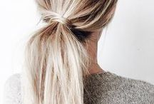 • Hairstyle