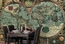 Weltenbummler nah & fern | homesickness / Du gehörst auch zu den Menschen, die beim Anblick von Urlaubsbildern direkt Fernweh bekommen oder die nach einem wundervollen Urlaub gleich wieder den nächsten planen? Gut so, denn wenn einer eine Reise tut... kennst du ja! Hol dir das Reisefeeling nach Hause und plane an lebensgroßen Wandgestaltungen deine nächsten Ziele! Auf gehts #Reiselust #Fernweh #Weltenbummler #homesick #globetrotter #Welt #Globus #Landkarte #Reisen #Urlaub