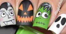 Holiday Inpsired Nail Art