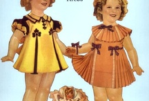 Playing with Paper Dolls / by Sandra Fields Graham