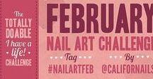 2013 February Nail Art Challenge
