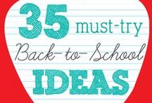 BACK TO SCHOOL / Great tips from our mom's on going back to school.
