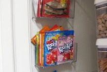 Ideas & storage tips for your Kitchen & Pantry / by Sandra Fields Graham