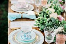 HIGH TEA TABLES&FOOD