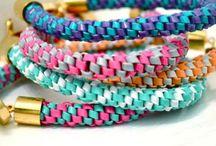 Gimp bracelets / Gimp