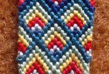String bracelets / String bracelets