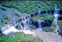 IGUAZU FALLS / Cataratas de Iguazú.- Argentina- Brasil