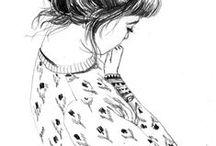 ♡ art & illustrations / Photography, art, illustrations, graphic design