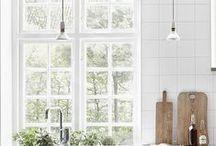 ♡ { interiors } kitchen / Kitchen inspiration and ideas