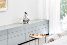 ♡ { interiors } decor / Home decor, DIYS and organisational tips