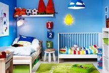 Kids Room Ideas / Fun decorating ideas for nurseries, kids and teens that creatively express their personalities.