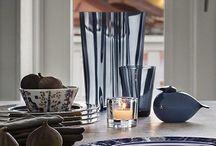 finnish design - tableware, glasware, glasart, tabledecor