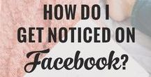 facebook - tips and for bloggers and small business / How to use Facebook to generate traffic to your blog or market your business, how to  gain more Facebook followers and much more