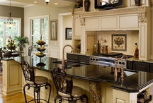 Fabulous Kitchen Ideas / The kitchen is the heart of the family gatherings.  Who doesn't want a fabulous kitchen?  These are great ideas for dream kitchens!