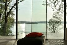 Villa am Ammersee 2009, Germany / www.sky-frame.com –  Architecture: Atelier Lüps, Germany www.lueps.com  Photography: Thomas Huber, Germany