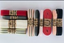 Saddle stitch ribbon / Saddle Stich Ribbon, woven cotton ribbon, is available in an amazing range of colours which is either double sided or single side stitched. http://www.myinspiredplace.com/product-category/saddle-stitch-ribbon/