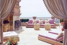 Moroccan in and outdoor dining
