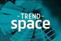 TrendSpace / A space featuring the Pantone color of the year and other hot trends for 2014.